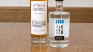 Whiskey und Gin